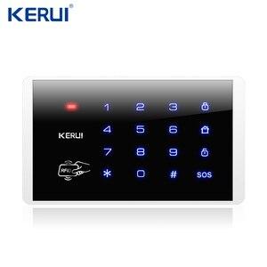 Image 4 - KERUI 7 дюймов TFT цвет дисплей Аварийная сигнализация wifi gsm ISO приложение для Android дистанционное управление дома охранной сигнализации Дым сенсор