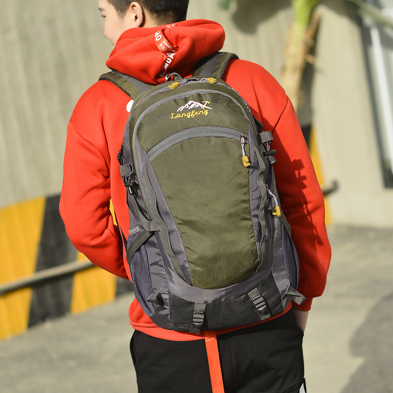 2019 New Style Fashion Travel Backpack Casual Travel Outdoor Sports Backpack Waterproof Men's Large Capacity Mountaineering Bag