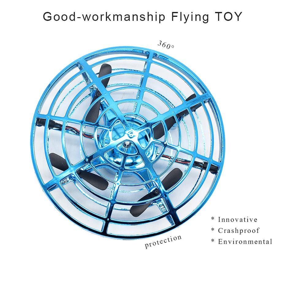 Image 3 - Quadcopter Mini Drone UFO Quadcopter Induction Infrared Light Suspension Flying  Toys Mini RC Drone Children's Gift Figure Toys-in RC Helicopters from Toys & Hobbies