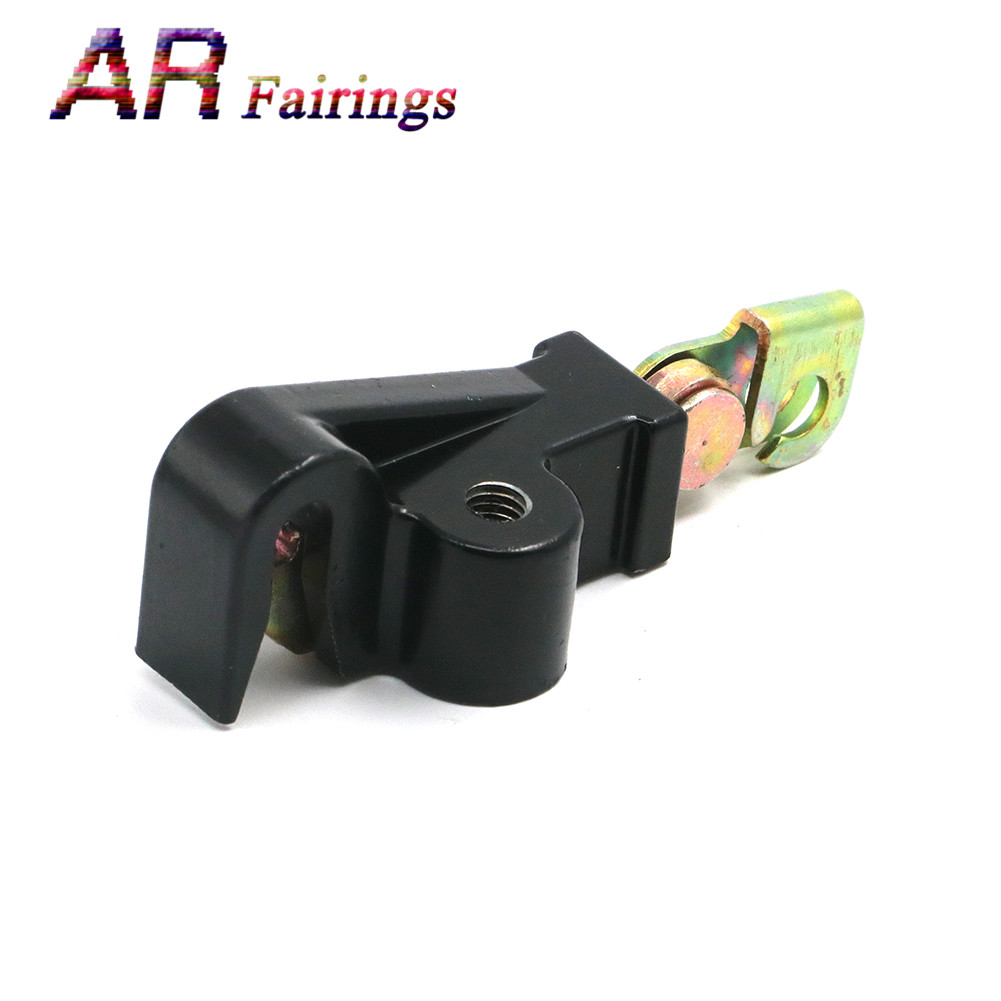 Motorcycle Seat Lock Catch Hook Latch Bolt For Honda CB 250 600 1100 CBR VTR RC51 <font><b>GL1500</b></font> CBR1100XX CBR600 Replace 77220-KY6-010 image