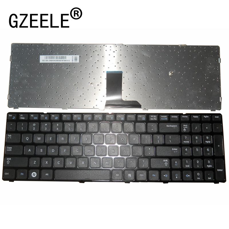US Laptop Keyboard For SAMSUNG R580 R590E R780 E852 New Black