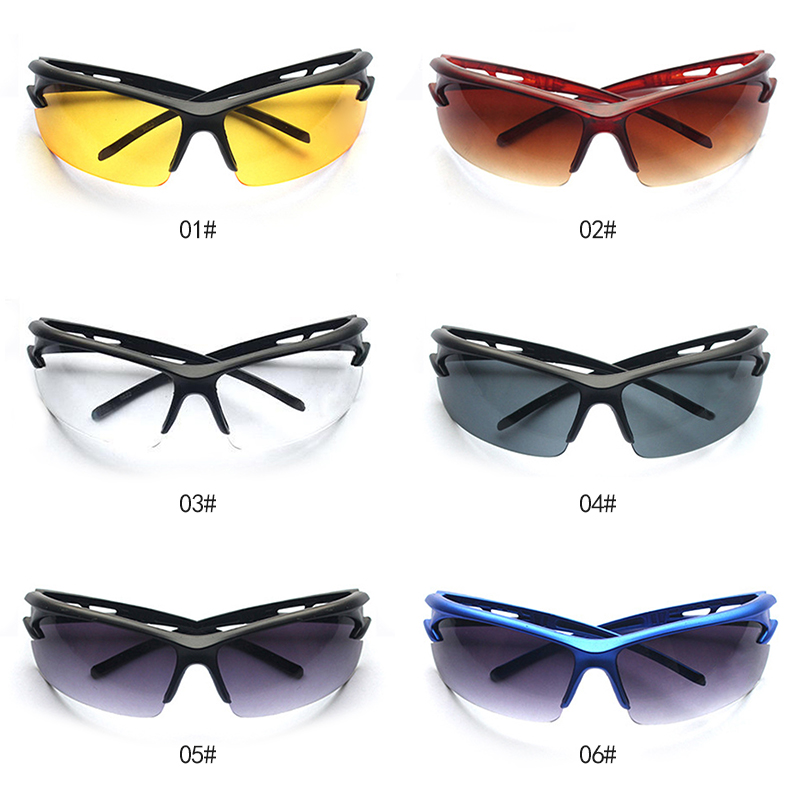 Car Accessories Fashion UV Protective Sunglasses PC Explosion-proof Protective Anti-fog Seal Eye Safety Goggles