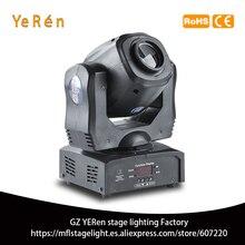 Mini Spot 60W iluminación con cabeza giratoria de cuatro prismas fiesta luz barra de luz KTV Bar escenario efecto de iluminación