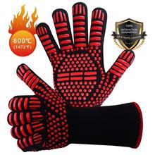 Fireproof-Gloves Aramid High-Temperature-Resistant Cut-Proof 800 Pair BBQ for Microwave