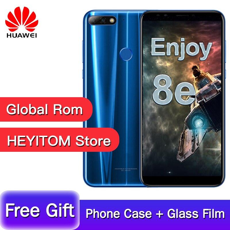 Original Huawei Enjoy 8e Global Rom Android 8,0 Smartphone 5,45 Pulgadas MT6739 Quad Core 2 GB RAM 32 GB ROM Dual SIM