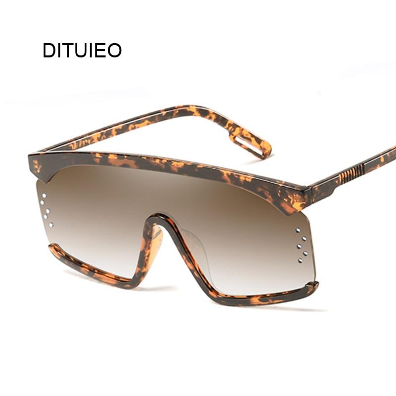 Vintage Shield Sunglasses Women 2019 Oversized Windproof Glasses One Peice Big Frame Goggles Sun Glasses Female