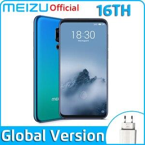 Meizu 16th 8GB 128GB Global Version Mobile Phone Snapdragon 845 Octa Core 16 th Smartphone In-Screen Fingerprint(China)
