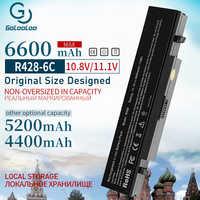 4400mah batterie d'ordinateur portable Aa Pb9ns6b Pour Samsung aa pb9nc6b R540 R519 R525 R430 R530 RV511 RV411 np300v5a R528 AA-PB9NS6B PB9NC6B