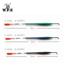 W.P.E 5pcs/lot Fishing Float Size 4g/5g/6g Barguzinsky Fir Floats Carp Bobber Vertical Buoy Length 23-26cm Fish Tackle
