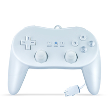 For Nintendo Wii Gamepads Second-Generation Classic Wired Game Controller Gaming Remote Pro Gamepad Shock Joystick For nintend