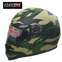 New LS2 FF358 Full Face Motorcycle Helmet Capacete ls2 Racing Alex barross Man C