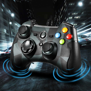 Image 3 - EasySMX ESM 9100 Wired Game Controller Gamepad Joystick with TURBO TRIGGER Button Gamepad For PC PS3 TV Box Android Smartphone
