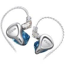 Cca Csn 1DD + 1BA Hybrid Driver Hifi In Ear Oortelefoon Monitor Hoofdtelefoon Ruisonderdrukking Oordopjes Iem Kz Zsx Asx cca CA16 C10 Pro C12