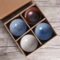 Japanese household gift bowl set bowl tableware wedding gift creative ceramic bowl bowl