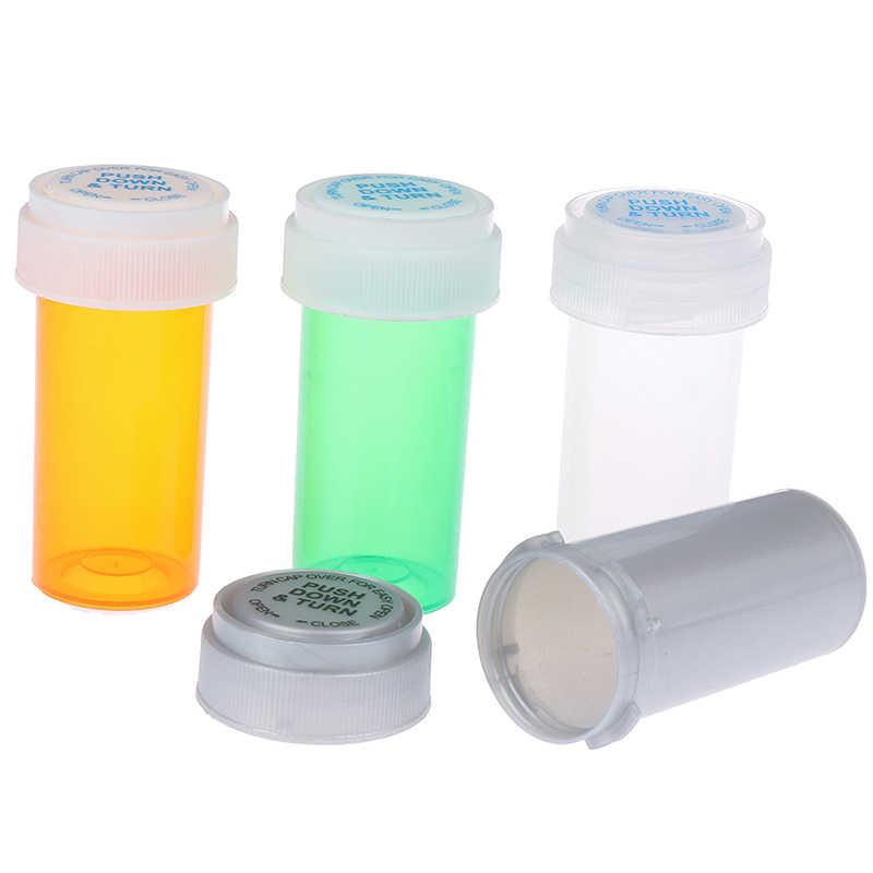 Pill Box Pill Case Storage Jar Wax Container 144 Purple Yellow Orange Stash Jar