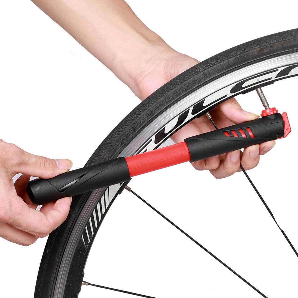Air Inflator Bicycle Pump Bike Tires Cycling Portable Tyre Hand Mini Ball