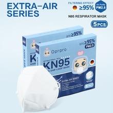 CE FDA Certification N95 Respirator Mask Ffp2 Standard Antiviral Air Pollution Filter Pm2.5 Dust KN95 Face mask