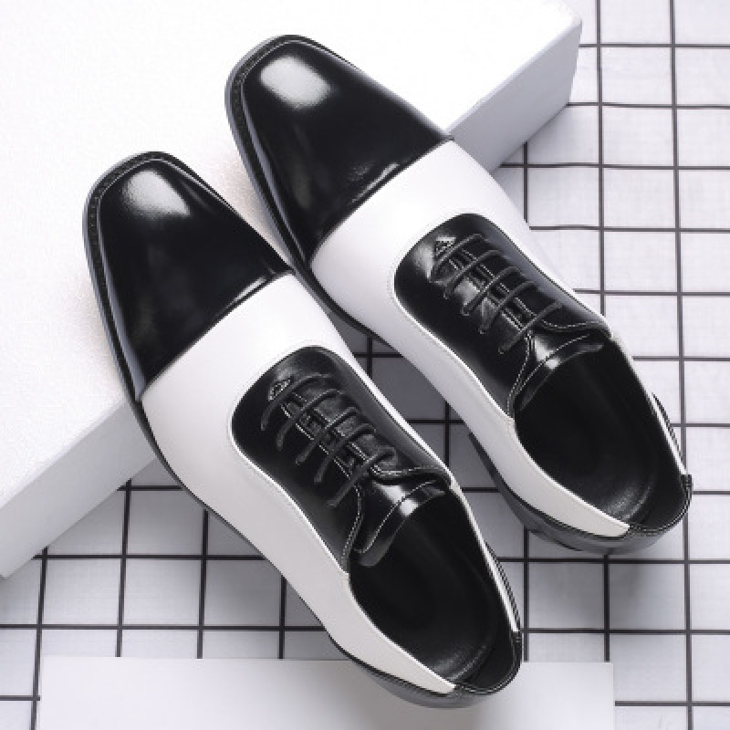 2020 High Quality Men Dress Shoes Lace Up Oxford Shoes Party Wedding Office Shoes Men Business Leather Loafers Plus Size 38-48