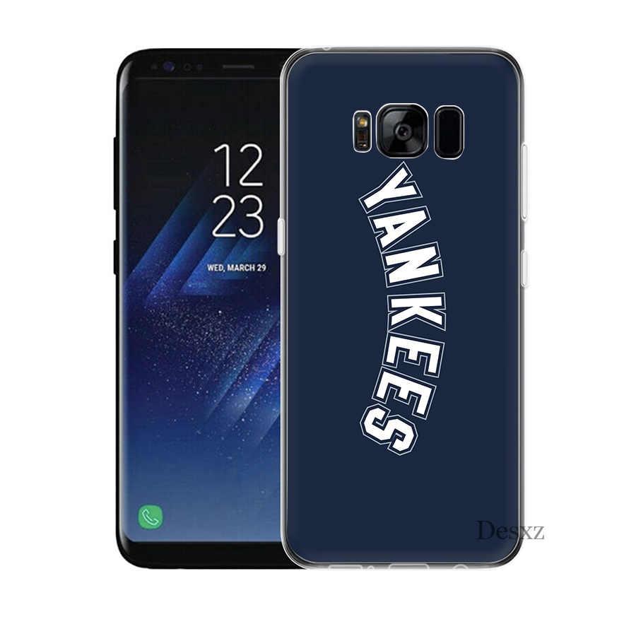 Телефон New York Yankees для samsung S8 S9 S10E S10 плюс S3 S4 S5 S6 S7 Edge Note 8 9 M10 M20 M30 крышка