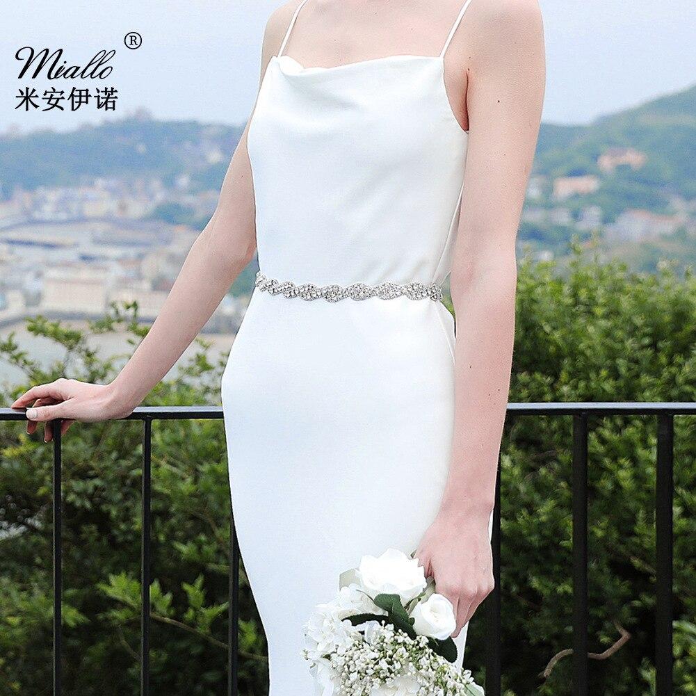 European And American Minimalist Bride Accessories Luxury Diamond Set Body Pendant Versatile Belt Wedding Dress Chain Belt Acces