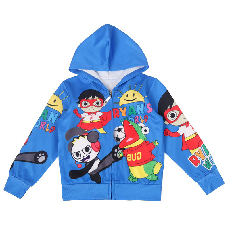 T-Shirt Ryan Pullovers Boy Hoodies Baby-Boys Kids for High-Quality 39046 Tops Toysreview