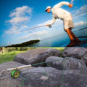 Image 5 - Sougayilang Удочка из углеродного волокна двойного использования 2,9 м, 4 секции, удочка для ловли нахлыстом, спиннинг, уличная удочка для ловли окуня