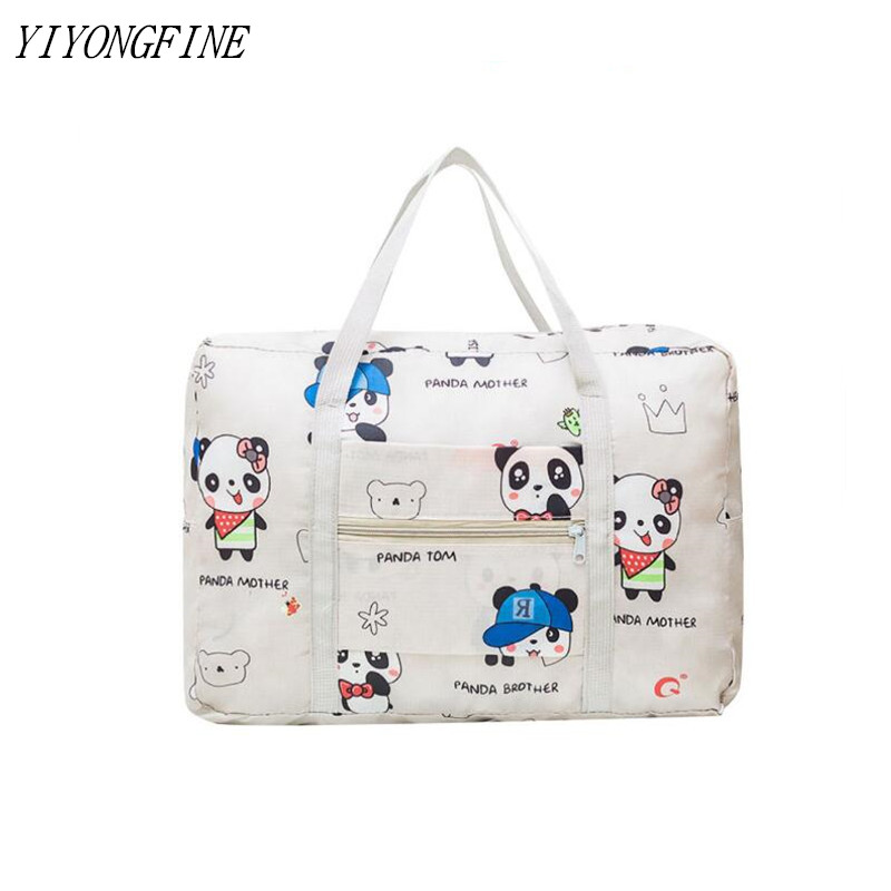 2020 Hot Large Capacity Weekend Bag For Travel Clothing Toiletries Luggage Bag Organizer Women Printed Travel Bags Packaging Bag