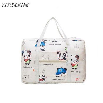 Fashion Printing Foldable Travel Bag unisex Large Capacity Luggage Women WaterProof Handbags Men Bags Free Shipping - discount item  15% OFF Travel Bags
