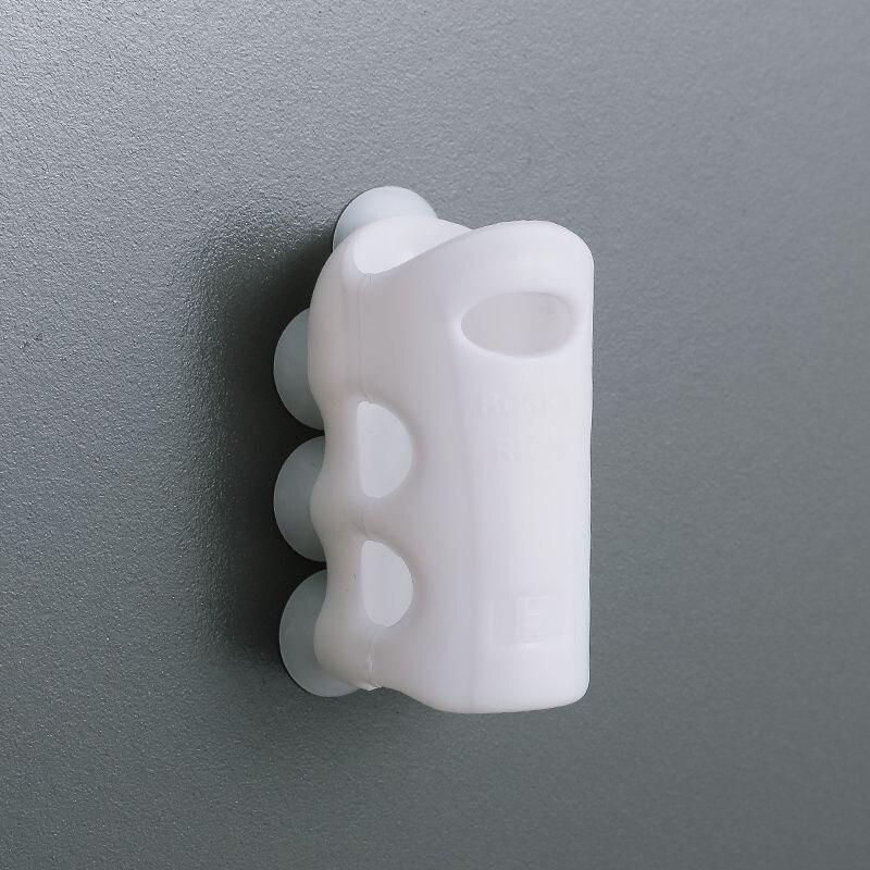 3 шт. Насадки для душа держатель стакан на присоске для дома для ванной для душа регулируемый держатель силиконовый стены всасывания вакуум...