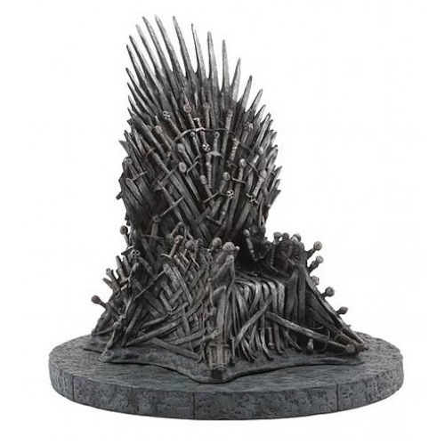 Game of Thrones Iron Throne Desk Figure Model Sword Chair Song Of Ice And Fire Collective Christmas Resin Process Gift image
