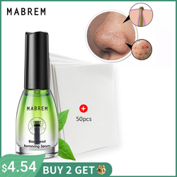 MABREM Blackhead Remover Face Nose Mask Pore Strip Black Mask Peeling Acne Treatment Deep Cleansing Mask Oil Control Skin Care