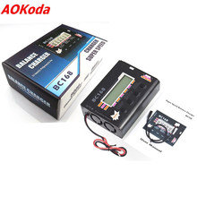 Original AOK BC168 1-6S 8A 200W Super Speed LCD Intellective Balance Charger/Discharger for Lipo Battery Rc Toys