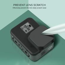 เลนส์ป้องกันเลนส์สำหรับ GoPro HERO 8 สีดำกล้อง Protector สำหรับ Go Pro 8 อุปกรณ์เสริมกล้องฝุ่น  Proof