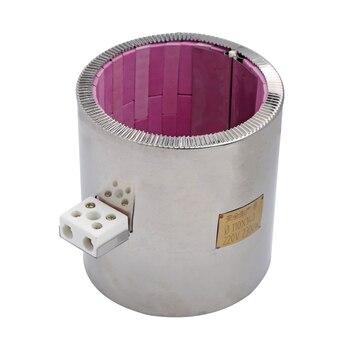55x80mm/55x145mm/110x75mm/110x110mm/ 110x140mm/110x170mm Rot Keramik Band Heizung Element Max Hohe-temperatur zu 1200 grad