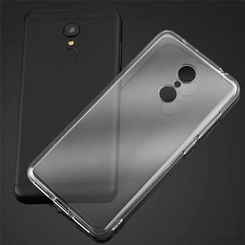 Ultra delgada suave TPU caso para rojo mi 4A 4X4 5X5 5A 6 6A 7 7A Plus nota 3 4 4X4 5X5 5A Pro caso claro para Xiaomi mi 4i/4c 5S 6 a1a2 8 SE