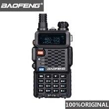 100% Original BaoFeng F8 + mise à niveau talkie walkie Police bidirectionnelle Radio Pofung double bande extérieure longue portée VHF UHF jambon émetteur récepteur