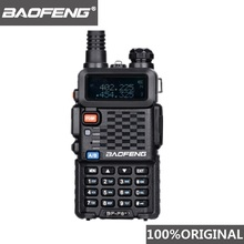 100% オリジナルbaofeng F8 + アップグレードトランシーバー警察双方向ラジオpofungデュアルバンド屋外長距離vhf uhfアマチュア無線トランシーバ