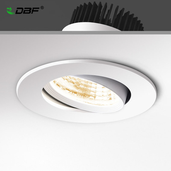 surface mounted black body led cob light 5w 7w 9w 20w led lamp ac85 265v spot light with led driver white warm white cold white [DBF]Super Bright Epistar COB LED Recessed Downlight 5W 9W 12W Warm White/Natural White/Cold White LED Ceiling Spot Light AC220V