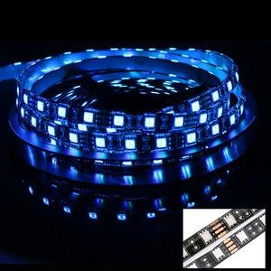 5 в светодиодный RGB светодиодный светильник USB Водонепроницаемый 5050 Bluetooth контроллер USB 5 В неоновый светодиодный светильник RGB лента Ambi светильник ТВ ПОДСВЕТКА