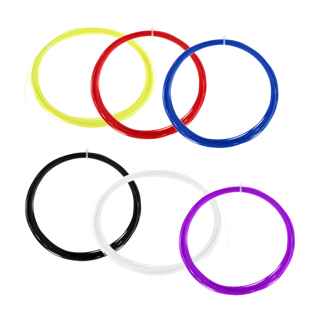 Premium Tennis Racquet Badminton Racket String Reel Wire 10 Meter DIY Tools -6 Color Available