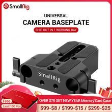 SmallRig placa Base de cámara Dslr de perfil bajo Universal con abrazadera de riel de varilla de 15mm como para Sony Fs7, para Sony A7 Series 1674