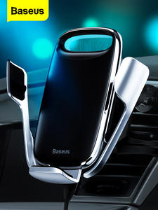Baseus Car-Phone-Holder Note-8 Wireless-Charger Xiaomi Redmi iPhone 11 for Pro-Max 15W