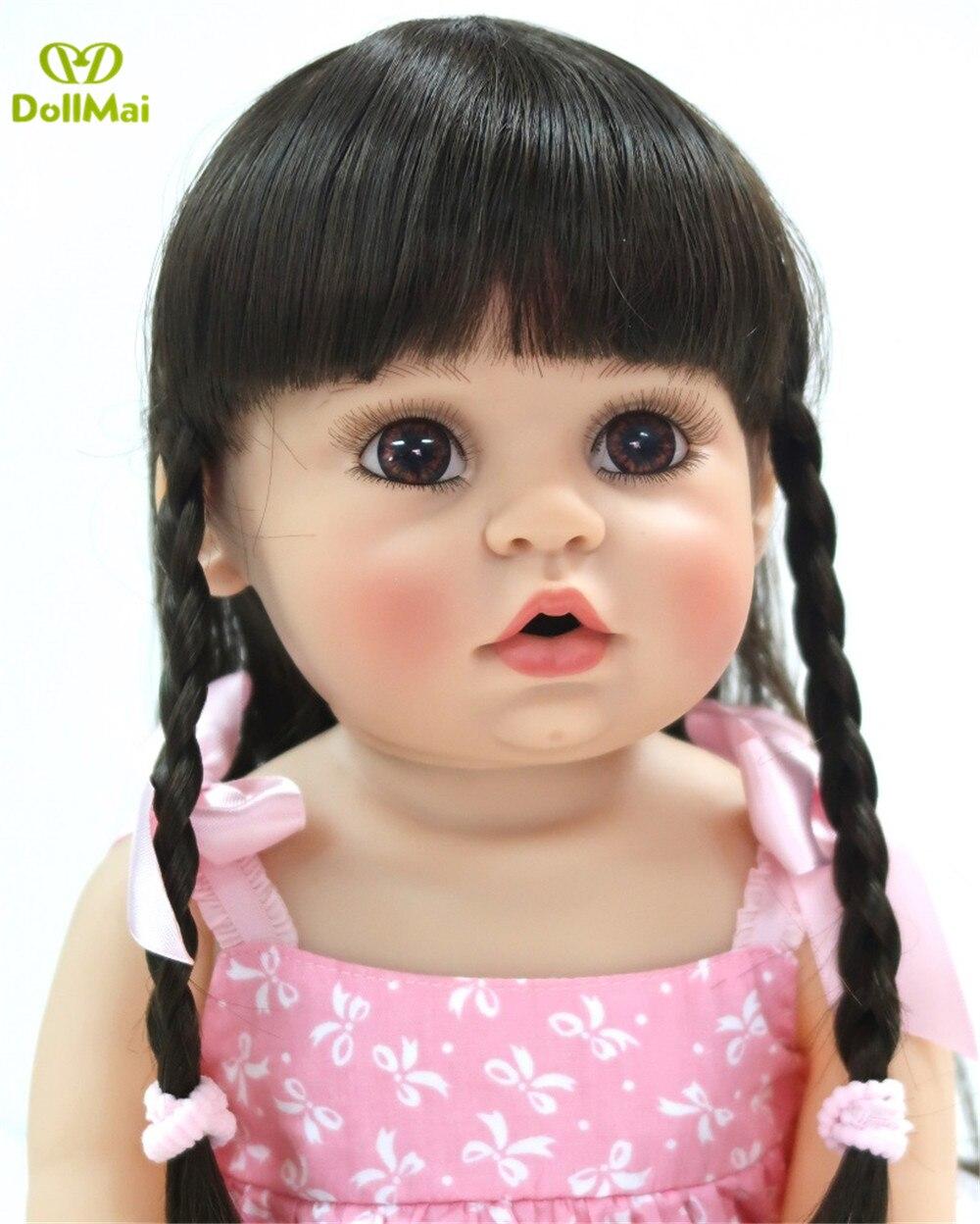 de vinil silicone renascer bebe realista crianca playmate boneca presente 02