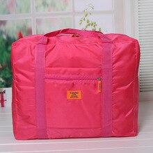 Foldable Travel Storage Luggage Carry-on Organizer Hand Shoulder Duffle Bag New