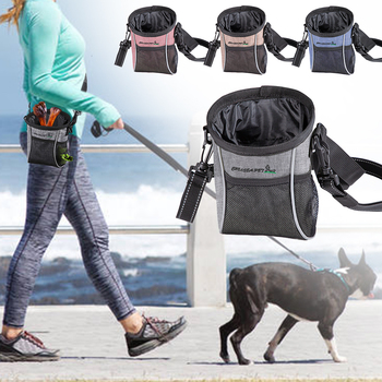 Snack Bait Dog Outdoor Pouch Food Bag Dogs Snack Bag Useful Pet Dog Training Treat Dog Carriers Pack Pouch new dog snack catapult launcher dog cat treat launcher snack food feeder catapult pet interactive training toys