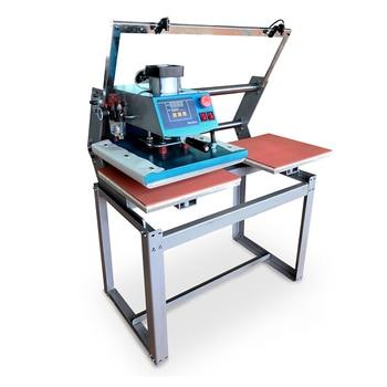 цена Slide Up Double Station Pneumatic Heat Transfer Machine Efficient Heat Transfer Machine Double Station Air Heat Transfer Tools онлайн в 2017 году