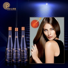 0.00% Formaldehyde 1000ml Bio Brazilian Keratin Straightening Treatment Therapy Kit For Hair Sulfate Free Shampoo and Hair Mask