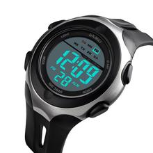 SKMEI Fashion Sport Watch Men 50M Waterproof Digital Wristwatches Weekdisplay Alarm Watches часы мужские 1492