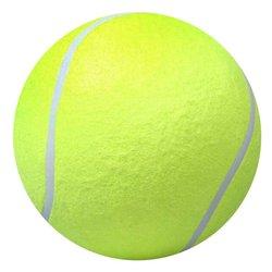 24cm perro pelota de tenis gigante de juguete pelota de tenis perro masticar juguete firma Mega Jumbo pelota de juguete para niños para mascotas perro suministros