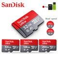Карта памяти SanDisk  256 ГБ  200 ГБ  128 ГБ  64 ГБ  98 МБ/с./с  карта Micro sd  класс 10  32 ГБ  16 ГБ  флеш-карта  карта памяти Microsd sd для телефона